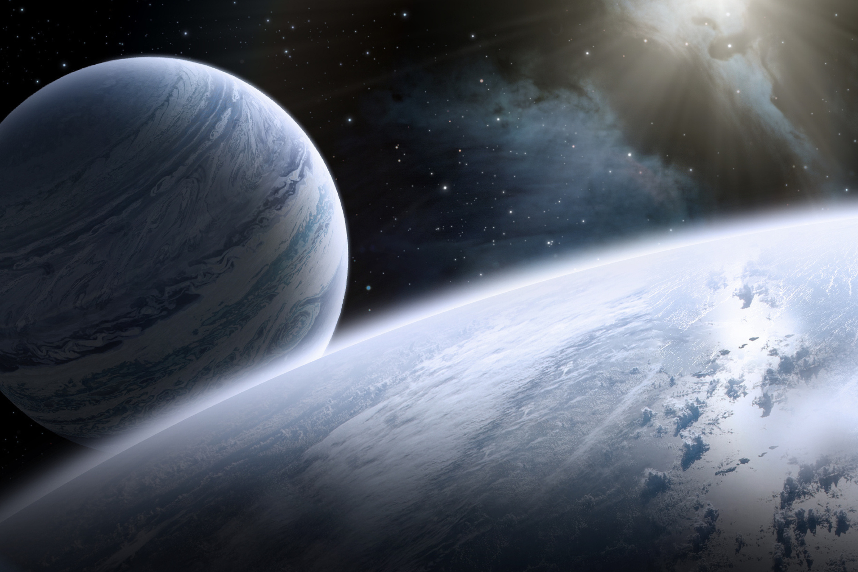 planets and stars - HD2880×1920