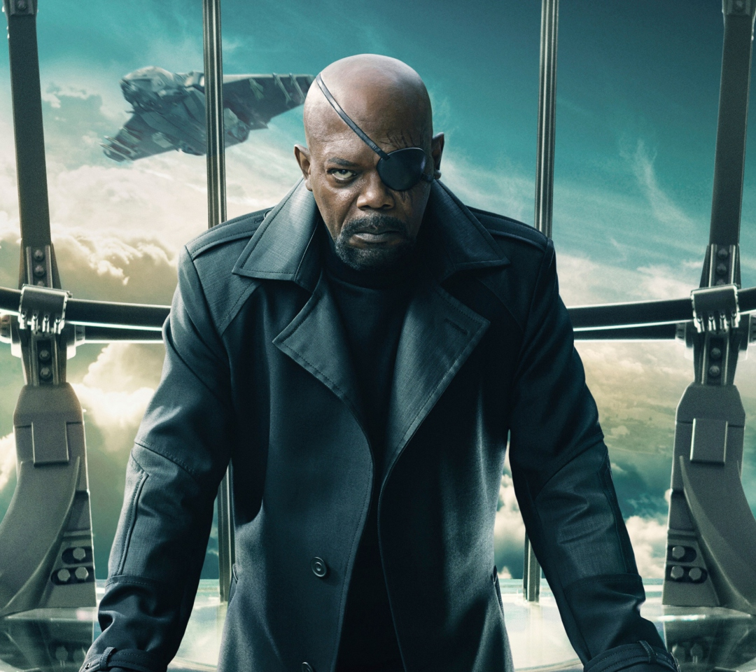 Screenshot №1 pro téma Nick Fury Captain America The Winter Soldier 1080x960