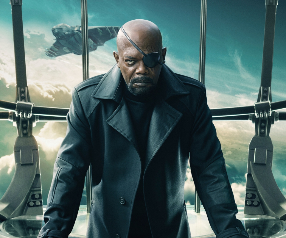 Screenshot №1 pro téma Nick Fury Captain America The Winter Soldier 960x800