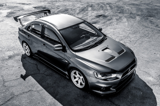 Mitsubishi Lancer Evolution Background for LG Optimus M