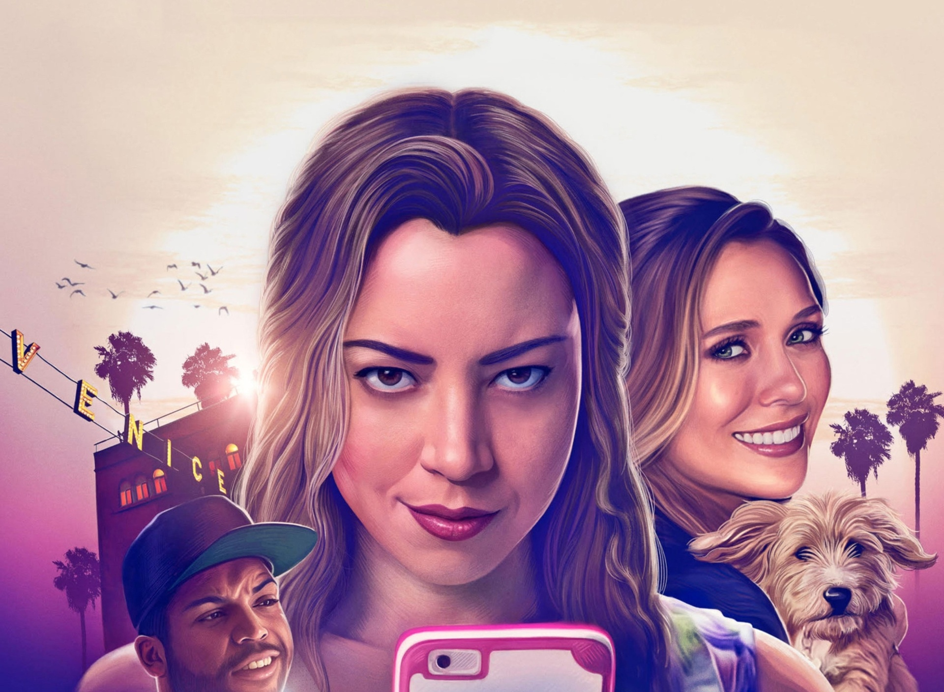 Screenshot №1 pro téma Ingrid Goes West Comedy Film with Aubrey Plaza and Elizabeth Olsen 1920x1408