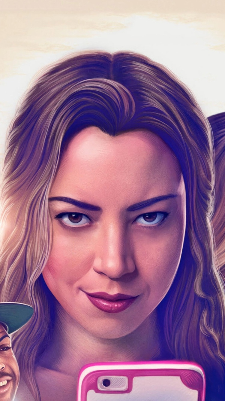 Screenshot №1 pro téma Ingrid Goes West Comedy Film with Aubrey Plaza and Elizabeth Olsen 750x1334