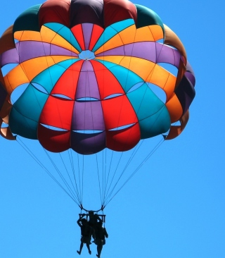 Big Colorful Air Balloon sfondi gratuiti per HTC Pure