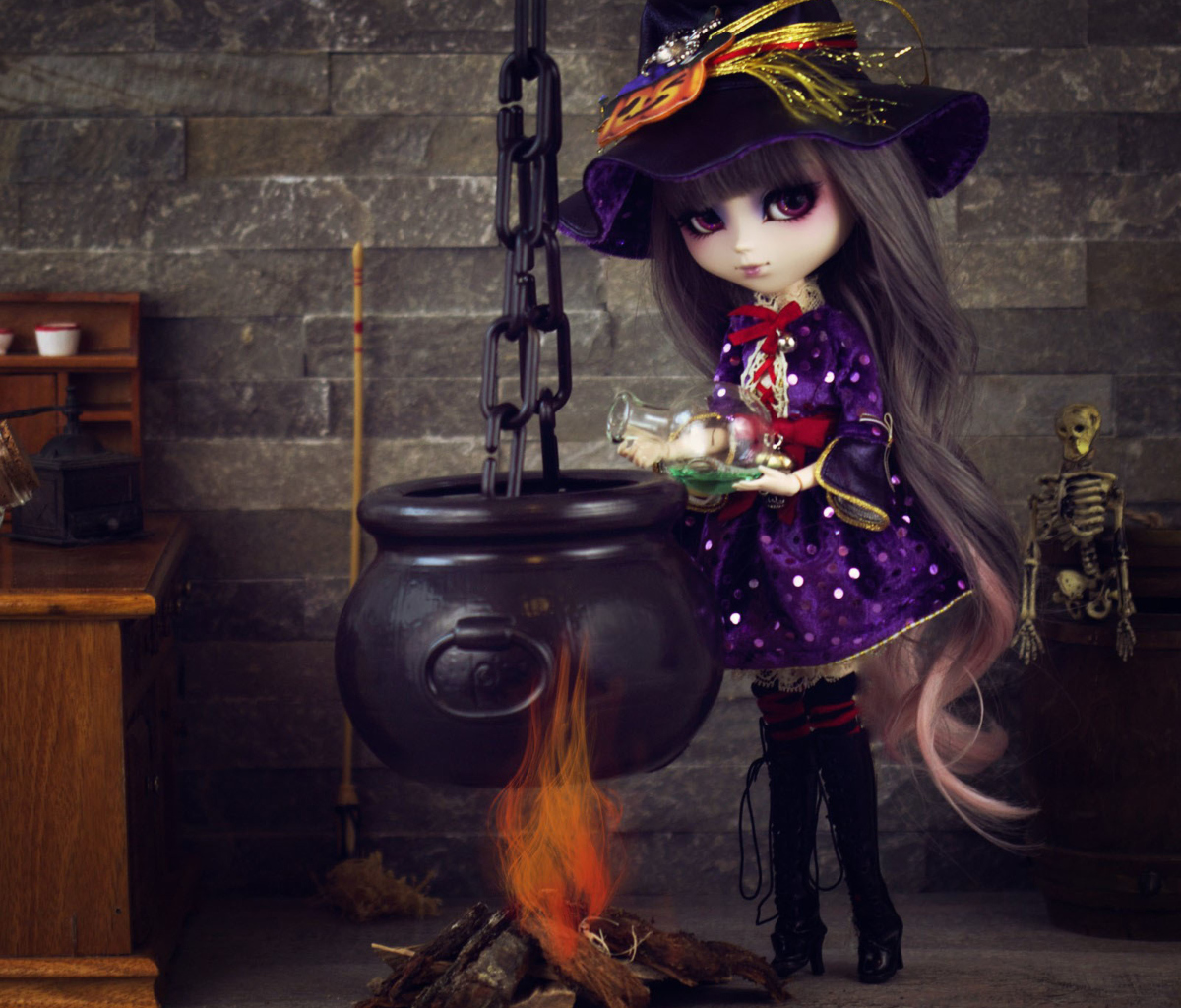 Witch Doll wallpaper 1200x1024