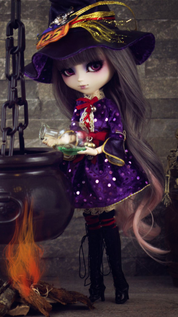 Screenshot №1 pro téma Witch Doll 360x640