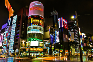 Tokyo, Japan Background for Android, iPhone and iPad