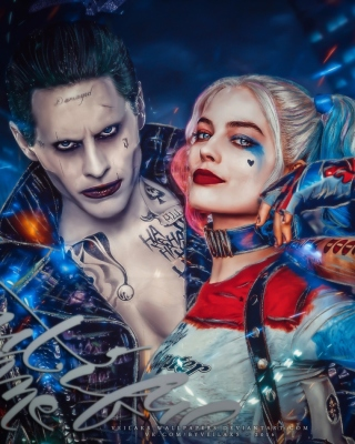 Free Margot Robbie in Suicide Squad film as Harley Quinn Picture for Nokia C1-01