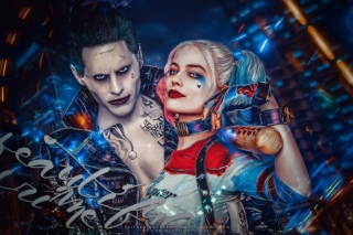 Kostenloses Margot Robbie in Suicide Squad film as Harley Quinn Wallpaper für Android, iPhone und iPad