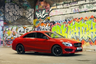 Mercedes CLA 220 Amg Background for Android, iPhone and iPad