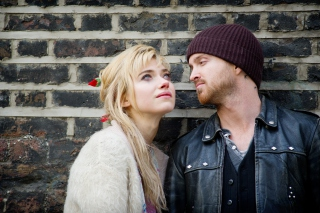 Free A Long Way Down with Aaron Paul and Imogen Poots Picture for Android, iPhone and iPad