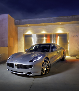 Fisker Automotive Wallpaper for 176x220