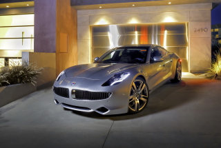 Fisker Automotive Background for Samsung Galaxy Tab 3