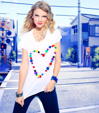 Cool Taylor Swift Wallpaper for HTC Titan