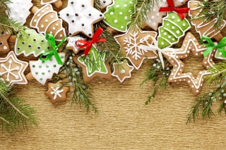 Free Christmas Cookies Picture for Android, iPhone and iPad