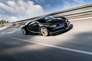Bugatti Chiron Fastest Car in the World - Obrázkek zdarma pro Widescreen Desktop PC 1280x800