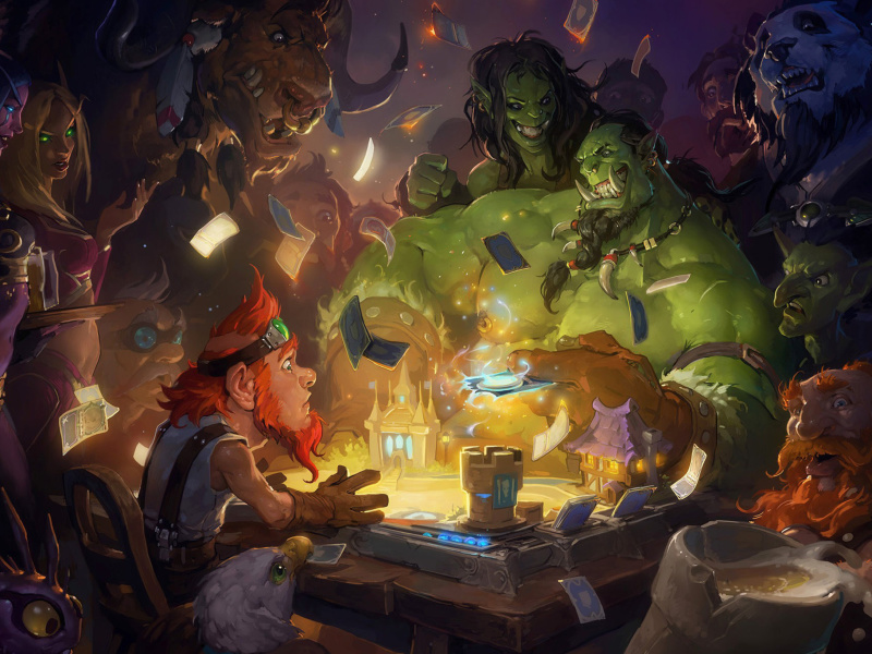Sfondi Hearthstone Heroes of Warcraft 800x600