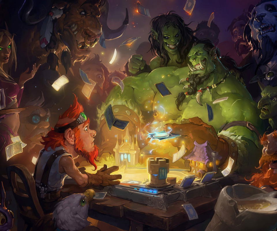 Sfondi Hearthstone Heroes of Warcraft 960x800