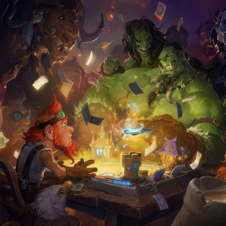 Hearthstone Heroes of Warcraft sfondi gratuiti per iPad 3