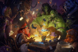 Kostenloses Hearthstone Heroes of Warcraft Wallpaper für Samsung I9080 Galaxy Grand