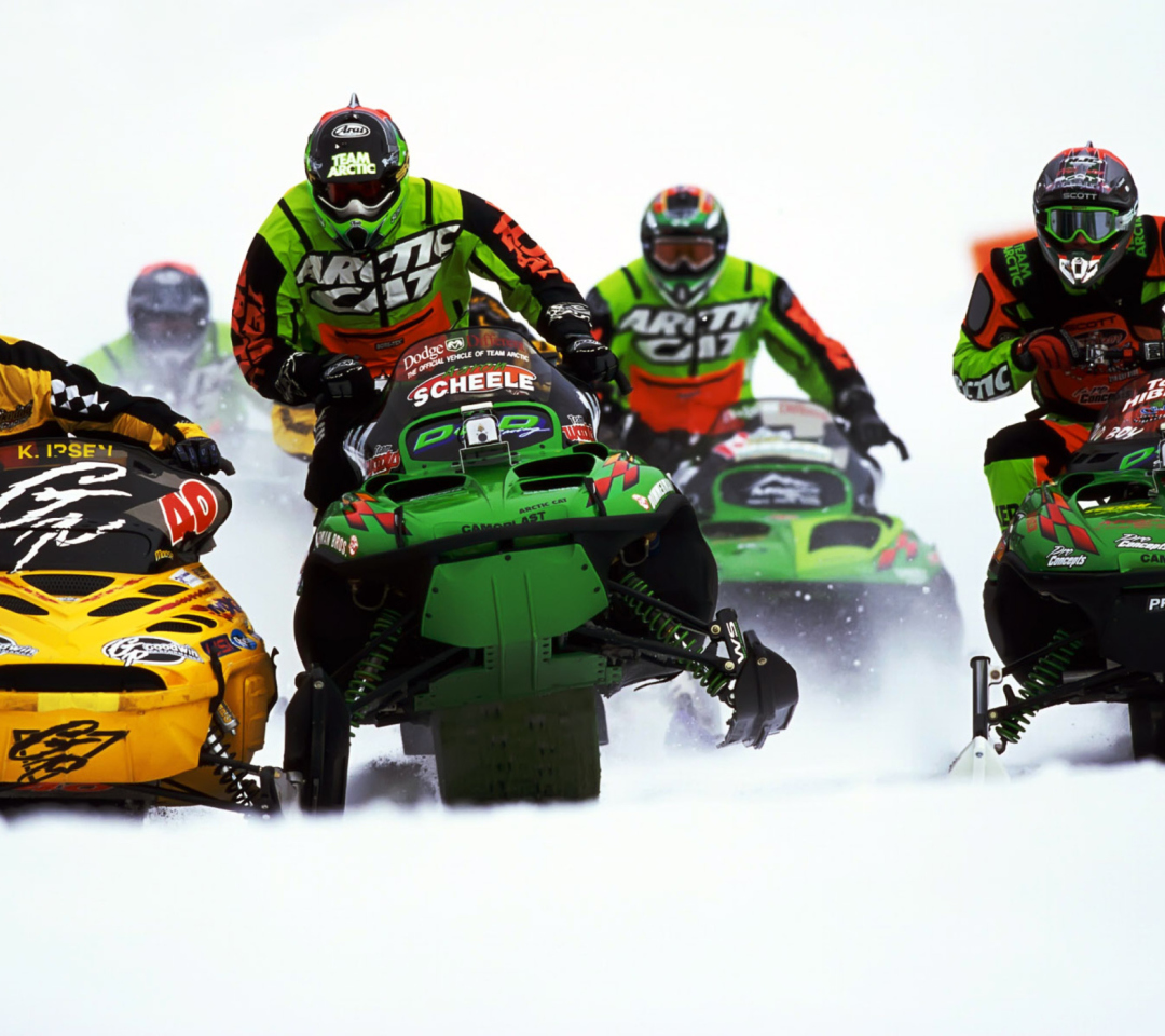 Snowmobile wallpaper 1080x960