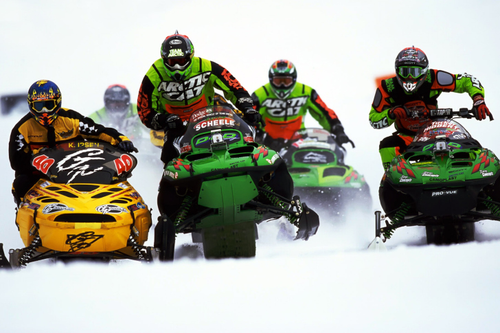 Snowmobile wallpaper