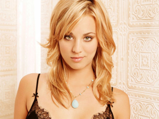 Screenshot №1 pro téma Kaley Cuoco from The Big Bang Theory 320x240