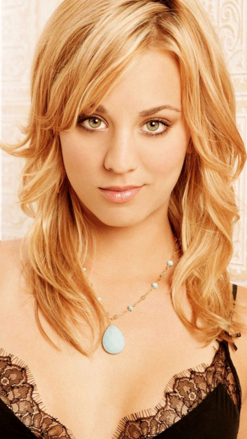 Screenshot №1 pro téma Kaley Cuoco from The Big Bang Theory 360x640