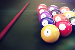Billiard Balls Background for Android, iPhone and iPad