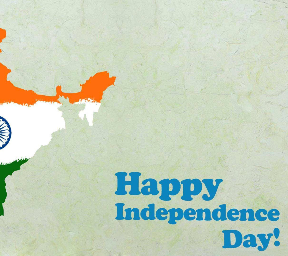 Happy Independence Day India wallpaper 960x854