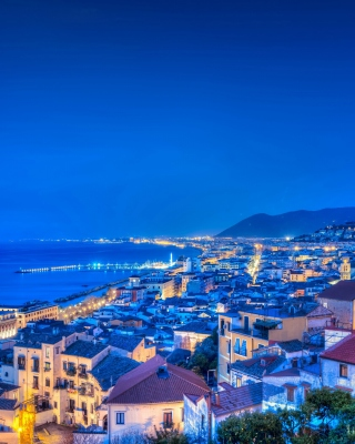 Amalfi Coast and Gulf of Salerno in Campania Wallpaper for HTC Titan
