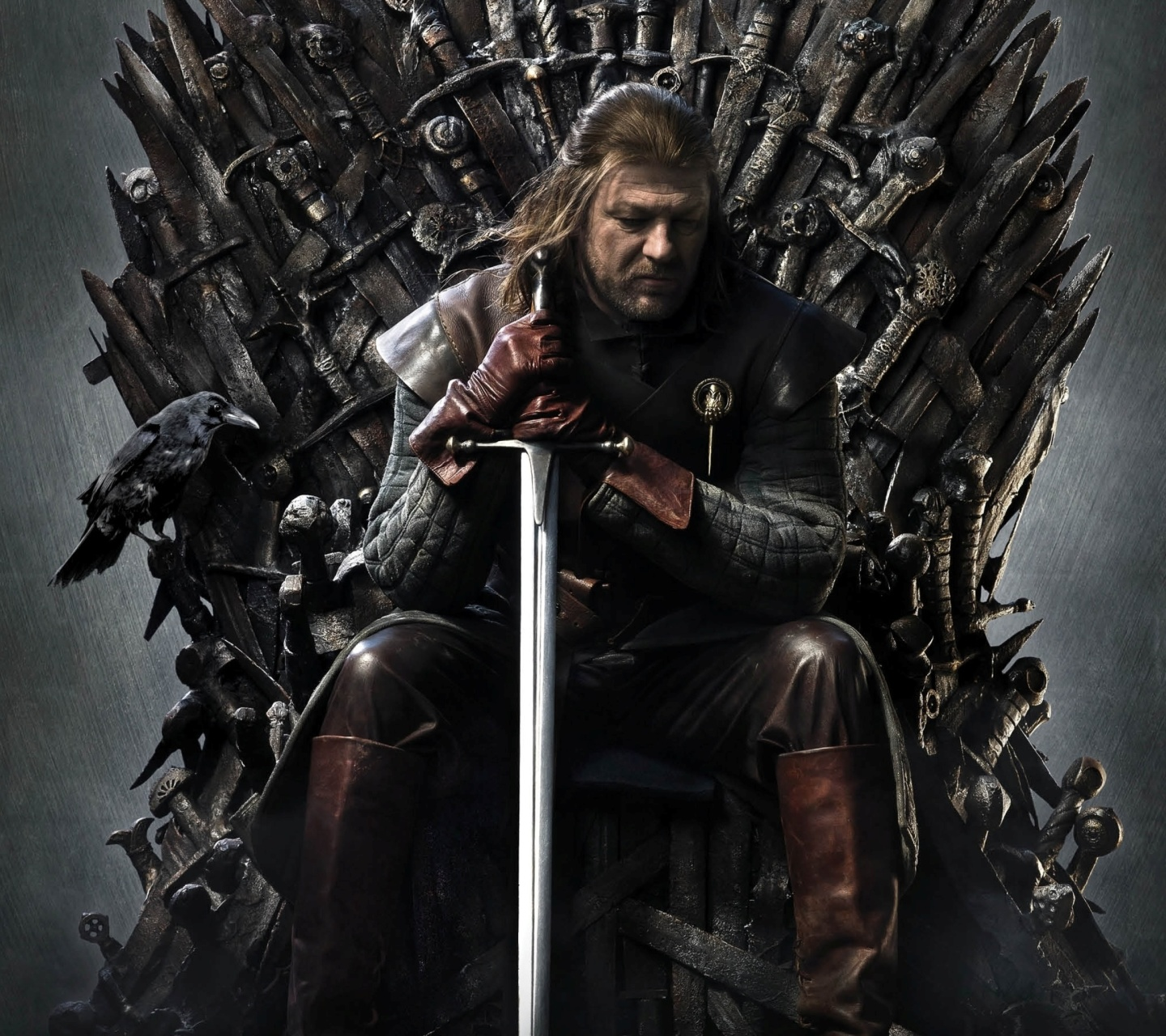 Обои Game Of Thrones A Song of Ice and Fire with Ned Star 1440x1280