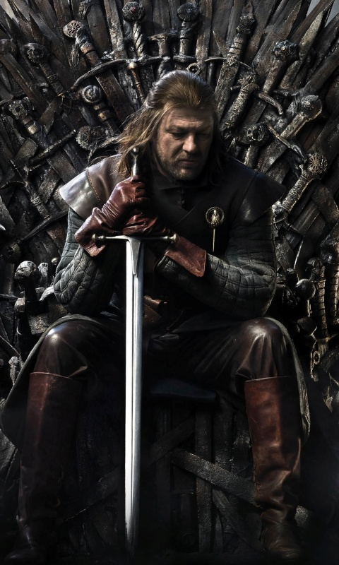 Sfondi Game Of Thrones A Song of Ice and Fire with Ned Star 480x800
