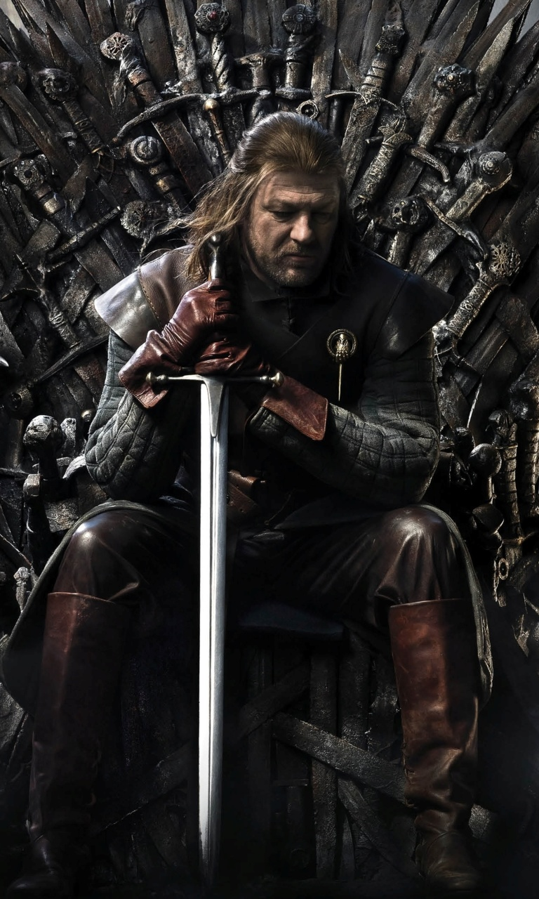 Sfondi Game Of Thrones A Song of Ice and Fire with Ned Star 768x1280