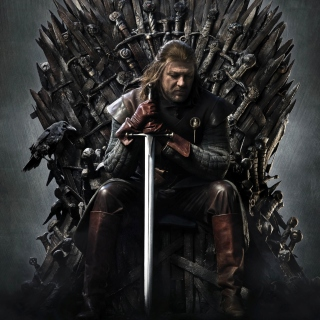 Game Of Thrones A Song of Ice and Fire with Ned Star - Obrázkek zdarma pro 2048x2048