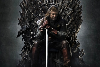 Game Of Thrones A Song of Ice and Fire with Ned Star - Obrázkek zdarma pro 1366x768