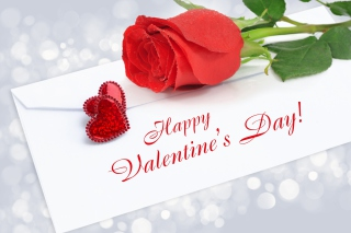 Valentines Day Greetings Card Background for Android, iPhone and iPad