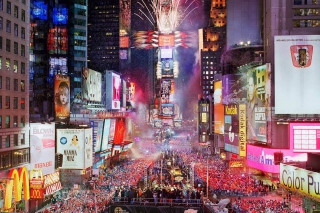 New Year Eve On Times Square - Obrázkek zdarma