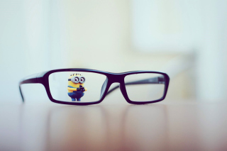 Minion Toy Background for Android, iPhone and iPad