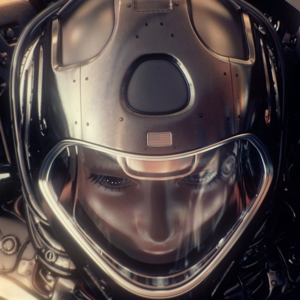 Screenshot №1 pro téma Astronaut in Space Suit 1024x1024