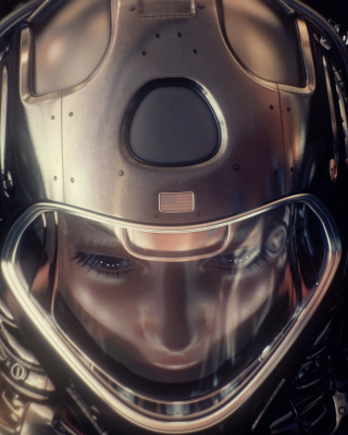 Free Astronaut in Space Suit Picture for iPhone 6 Plus