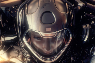 Astronaut in Space Suit Background for Android 480x800