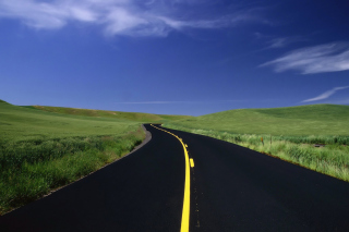 Road Landscape and Heaven sfondi gratuiti per cellulari Android, iPhone, iPad e desktop