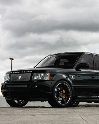 Range Rover Exclusive Tuning Wallpaper for Nokia Asha 308