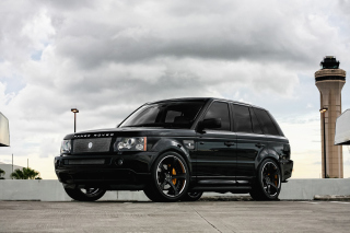 Range Rover Exclusive Tuning Background for Android, iPhone and iPad