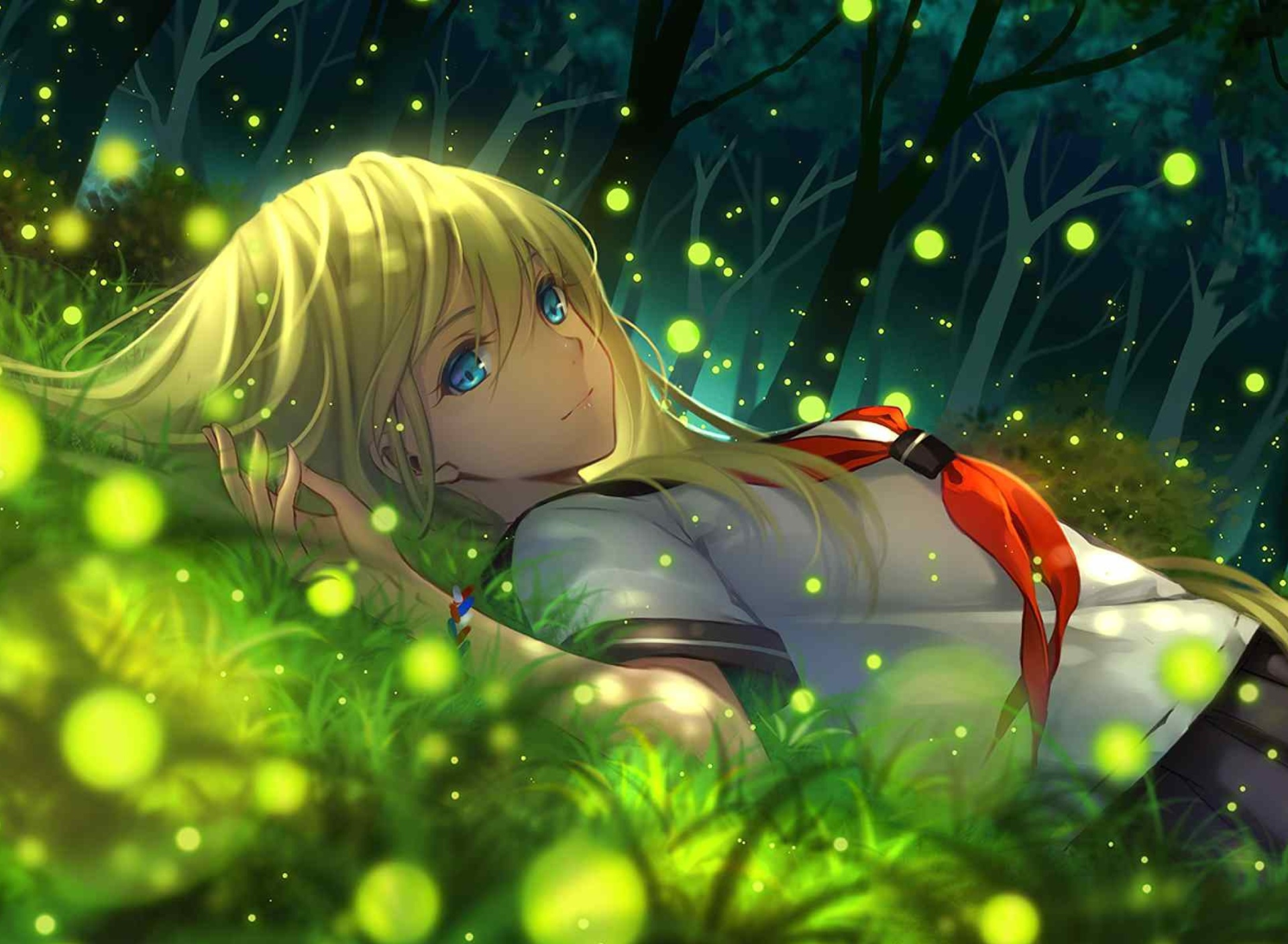 Sfondi Everlasting Summer Anime 1920x1408
