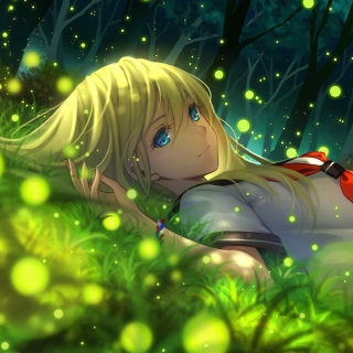 Everlasting Summer Anime sfondi gratuiti per iPad mini
