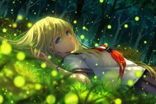 Free Everlasting Summer Anime Picture for Samsung Google Nexus S
