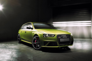 Free Audi RS4 Avant 2015 Picture for Android, iPhone and iPad