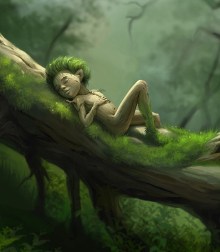 Forest Sleep sfondi gratuiti per iPhone 5