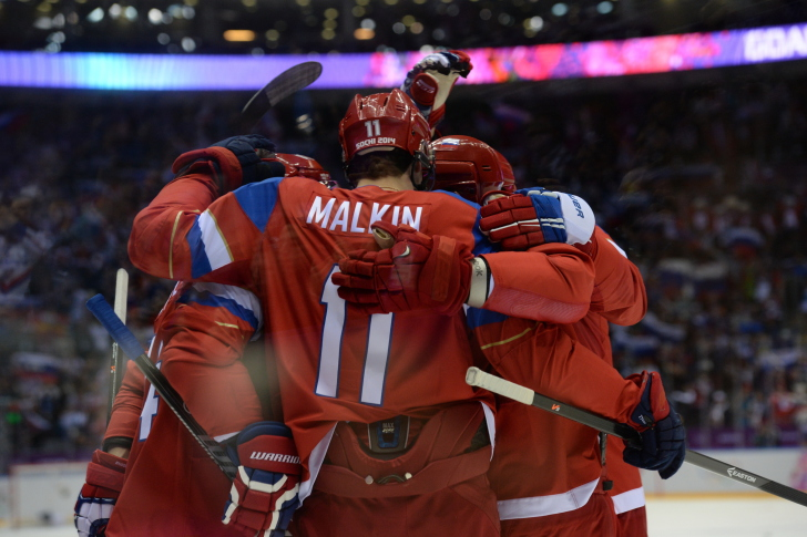 Sfondi 2014 Winter Olympics Hockey Team Russia